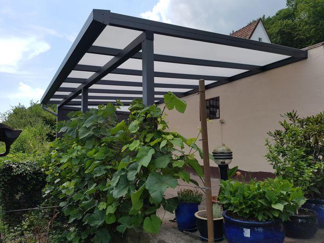 terrassenüberdachung 700cm x 400cm