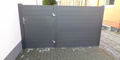 Zaun als Bausatz